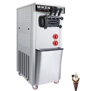 Üç Tatlar Yumuşak Makine Taşınabilir Dondurma Fiyatı Yapma Dondurma Makinesi 1600W Ticari Elektrikli Ice Cream Serve