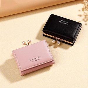 2019 Cute Wallet Women Leather Short Card Holder Ladies Purse Clutch Money Pocket Women Wallets Bag Cartera Mujer W267