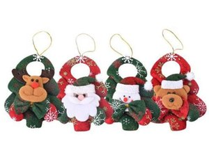 Christmas Ornaments Christmas Tree Santa Claus Pendants Drop Christmas Decorations For Home Decoracion Navidad 14CM