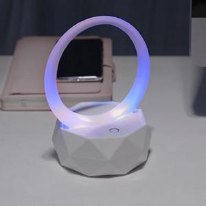 BEESCLOVER Nachtlicht drahtlose Bluetooth-Lautsprecher Bunte Subwoofer Bluetooth Lautsprecher