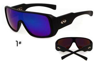 ВОЗ CUTIE Brand пробуждают Солнцезащитные очки Мужчины Классический ONE PIECE Square Вождение ВС очки Оттенки Мужской Дизайнер óculos OM283 M5JR