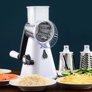 Vegetable Cutter Round Slicer Graters Potato Carrot Cheese Shredder Processor Vegetable Chopper Kitchen Roller Gadgets Tool