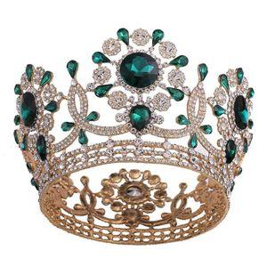 Luxury Rhinestone Wedding Bridal Queen Tiara Bride Headpiece Women Prom Diadem Jewelry Girls Hair Accessories