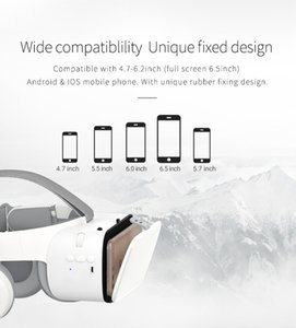 Bobovr Z6 VR 3D-Brille Virtual Reality Goggle Helm Bluetooth VR Smart-Brille Headsets BOBO VR für 4-6-Zoll-Handy