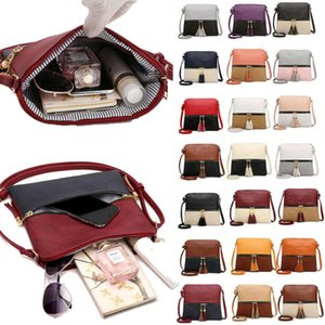 NoEnName-Null Women Leather Handbag Shoulder Lady Cross Body Bag Tote Messenger Satchel Purse