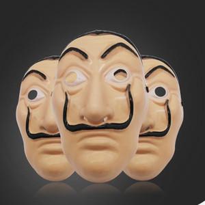 Salvador Dali Maskesi Tam Yüz La Casa De Papel Yüz Kostüm Film Maskesi Cadılar Bayramı Kostüm Cosplay Maskeler Ücretsiz Kargo DHE1421 Maskesi