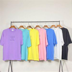 Acme De La Vie ADLV Marque Designer Top qualité Hommes Femmes T-shirt Fashion Imprimer T-shirts manches courtes 506