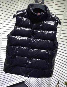Новый дизайнер жилет Mens женщин Марка рукавов куртки хлопка проложенный Mens вниз жилет зима вскользь пальто Мужчины Жилет Luxury 2020091202T