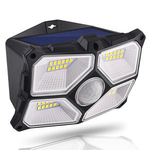 새로운 디자인 IP65 (40) LED가 태양 빛 방수 LED 태양 램프 PIR 모션 센서 LED 정원 빛 실외 벽 빛