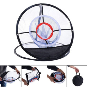 Adult Children Golf Training Network Indoor Outdoor Chipping Pitching Cages Mats Practice Easy Net Golf Training Aids