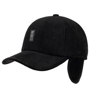Hat Cap шляпы Зимней ухи и теплая Мода Качество Высокой Старой Защита Deerskin Осень Бейсбол cyXcZ yh_pack