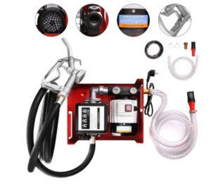 New arrival 2020 Oil Diesel Fuel Transfer Pump Electric Auto Bio-diesel Speed 2800rpm 60L min easy to use