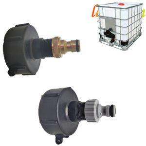 3/4 Zoll Wasserschlauch Messing Gärten Tonnen Ventile Bucket-Adapter für IBC-Behälter Bewässerung Practical Outlet Gewinde Zubehör Fittings