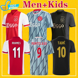 Ajax Men Kids Kit 2021 Home Away Terceiro 50th Anniversary Maillot Ajax Soccer Jersey Nouri Promes 20 21 Top Quality Football Shirt