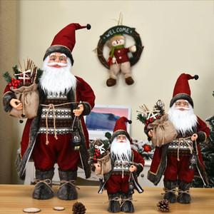 Decoración de Navidad para Party Supplies boda del árbol de la decoración Las 60cm grande de Santa Claus muñeca Niños de Navidad Año Nuevo regalo de Navidad