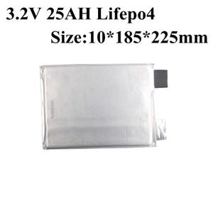 16pcs / lot 3.2V 25AH 25AH Lifepo4 bateria recarregável para DIY 48v E Bicicleta Kit Solar Agm Batter elétrica Ferramenta Lamp Scooter