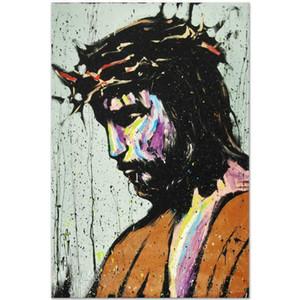 """David Garibaldi """"Gesù"""" Home Decor dipinto a mano HD Dipinti Stampa Olio Su Tela Wall Art Immagini 200919"""