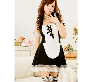 2017 Sexy Costumes Lingerie Underwear For Women Lovely Female Maid Game Uniform Classical Lace Dress Sex Products Cosplay00