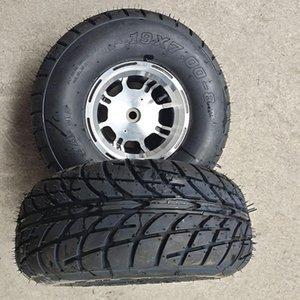 8 дюймов ATV шин 19x7-8 Fit для четырех колес vehcile мотоцикл 50cc 70cc 110cc 125cc ATV Малый передние или задние колеса 19x7.00-8 шины