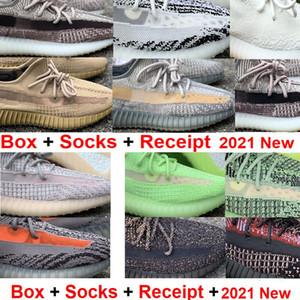 2021 New Running Shoes Eliada ABEZ Sulphur Asriel Zyon Lino Lino Greygum Oreo Marsh Tail Light Yeshaya Cinco Yecheil con caja
