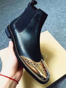 Yeni stil siyah nakış bayanlar yarım bot deri moda rahat yumuşak taban çöl Martin botları kış kar botları iş ayakkabıları