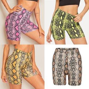 Sports Shorts Feminino de secagem rápida alta Wear Calções de corrida soltas Casual Anti-Shine aptidão da ioga # 700