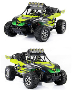 50KM H Remote Rock Vehicle 1:18 4WD Truck Car Control 2.4GHZ Brushed Monster RC Off-road Crawler RC Toy Children's Toys Rlogv