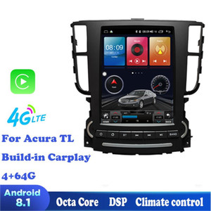 octa core Android 8.1 Car Radio carplay gps For TL 2004-2008 GPS Support Steering Wheel control full touch a c control car dvd