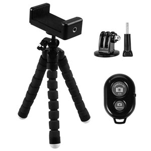 Wireless Remote Gadgets Gopro Hero5 Clip Besegad Tripod Phone For Accessories Monopod Shutter Bluetooth Phone Bracket Camera aFPPN