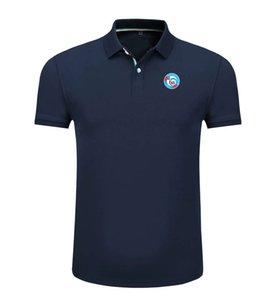 RC Strasbourg Al 2020 nueva primavera y el verano de algodón de fútbol polo de la camisa de los hombres de manga corta polo solapa unisex puede polo de los hombres personalizados bricolaje