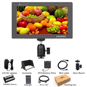 3G SDI 4K HDMI DSLR Monitor 7 Inch LCD IPS Full HD 1920x1200 Portable On Camera Field Monitor for Cameras Rig