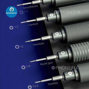 ishell mecânico arma de aço pequena série de chaves de fendas Set Abertura Repair Tool Kit para 11 Pro X XR XS Max 7 8 8P 6S