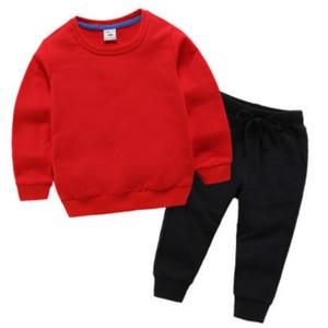 informal niños y niñas pantalones de otoño pantalones largos estilo exterior otoño invierno 2020 nuevo bebé desgaste del otoño deportes de los niños
