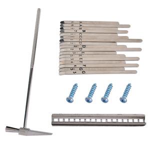 1 Set DIY 17 Note Kalimba Thumb Piano Steel Keys with Tuning Hammer