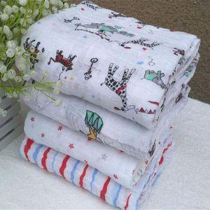 Newborns Bedding Anais Aden Baby Towel Envelopes For Receiving Infant Swaddle Blankets Blanket Multifunctional Muslin Cotton KArFP