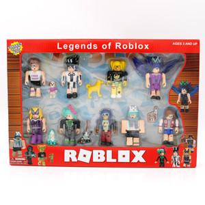 Последние горячие продажи виртуальный мир ROBLOX строительные блоки куклы роботов русалки DIY игрушки подарок мира чемпионы мира руки детей