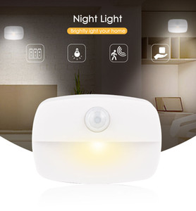 LED night light can be pasted night lights motion sensor night lamps wall light suitable for closet, corridor, kitchen