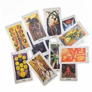 Board Edition English Tarot Game Party Cards Tarot Tarot 78 Thoth Pcs Mysterious Cards Deck Family Game tbeyb car_2010