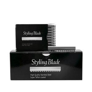 100pcs Sägezahn Razor Ersatzköpfe Typ Salon Blades Startseite Pro Tool Dressing Gesicht Rasieren Schneiden Styling G0323