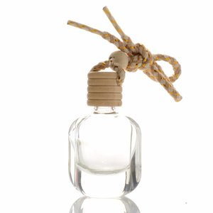 Oto kolye Otomobil Dekor Aksesuarları HHD1552 için Araç Parfüm Şişesi kolye Çanta Giyim Süsler Oda Parfümü kolye Boş Cam Şişe