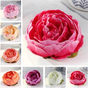 Simulation Artificial Flowers For Wedding Decorations Silk Peony Flower Heads Party Decoration Flower Wall Wedding Backdrop Peony WX9-1785