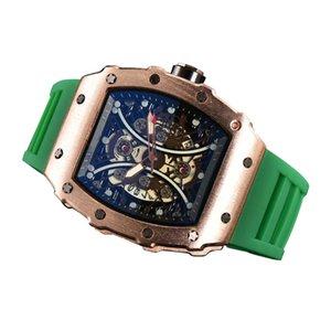 I produttori forniscono nuovi orologi di quarzo di revisione commercio richard watch a forma di quarzo a forma di barilotto a forma di barilotto
