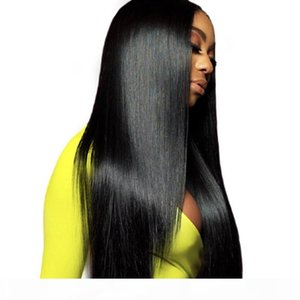 Brazilian Straight Lace Front Human Hair Wigs For Women Pre Plucked Hairline With Baby Hair Brazilian Straight Full Lace Wigs Human Hair Wig
