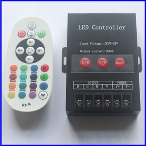 ZS Top quality LED Controller DC5V-24V RGB RGBW Colorful Changing 30A Wireless LED Light Remote Controller