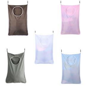 Kapı Büyük Kapasiteli Kirli Giysi Saklama Taşınabilir Dayanıklı Oxford Kumaş Geri Dönüşüm Bag Üzeri Çamaşır Sepet Bag Asma