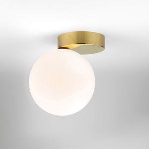 Nordic Glass Ball Ceiling Lamp Led White Globe Round Light Fixtures Wall Mounted Lighting Lustre Corridor Outdoor Luminiare Lamp