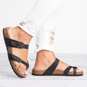 2019 Summer Beach Sandals Women Flat Sandals Slides Chaussures Femme Clog Plus Size 43 Casual Flip Flops Shoes Woman WSH3314 cs03