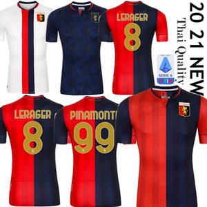 Genoa CFC football maison 2020 2021 maglie da calcio GUMUS KOUAME ROMERO Sturaro S. chemises de football Pinamonti 20 21