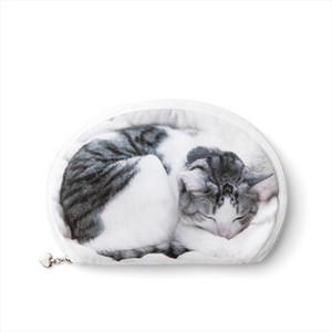 Cosmetic Bags Cute Cat Cosmetic Bag 3D Printing Travel Makeup Bag 2019 Hot selling Women Brand New