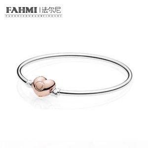 FAHMI 100% Argent 925 1: 1 Original 586268 Charm Bracelet Tempérament authentique Mode Rétro Glamour Bijoux de mariage des femmes